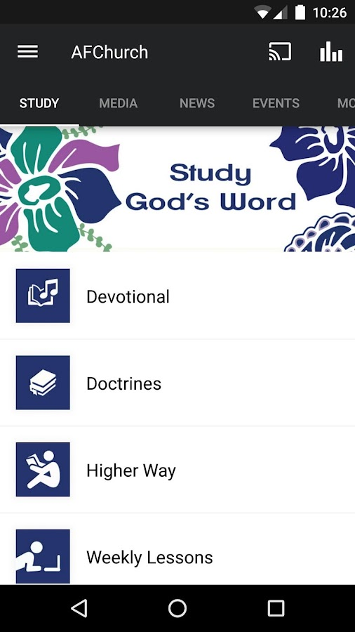 Apostolic Faith- screenshot