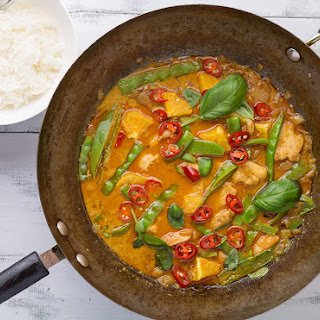 Orange Chicken with Jasmine Rice Recipe
