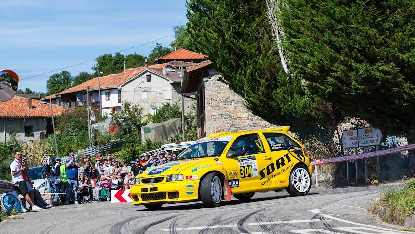 Maldonado en Asturias para competir con su Ibiza Kit Car en el Gr.A Legend Rally