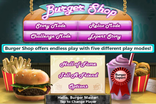 Burger Shop - Free Cooking Game apkpoly screenshots 2