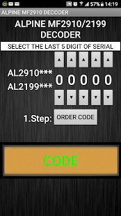 MF2910 Radio Code Decoder - náhled