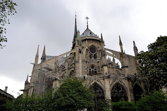 Photo: The back of Notre Dame