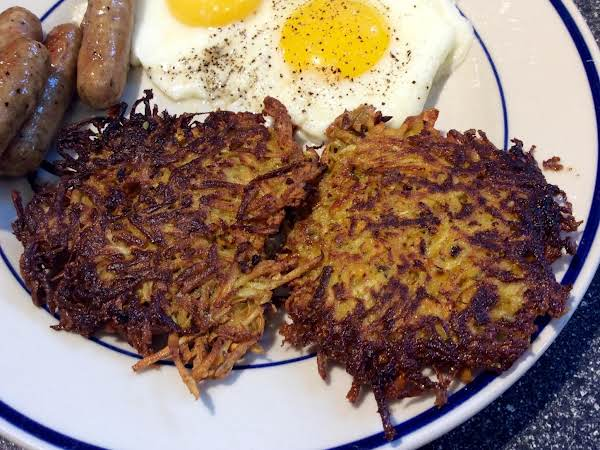 Parsnip-sweet Potato Latkes Recipe