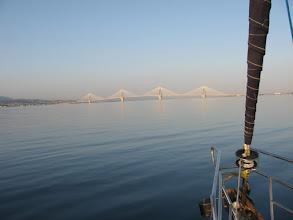Photo: Rion Bridge EU gift to Greece
