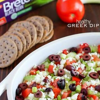 Healthy Greek Dip {Gluten Free}.