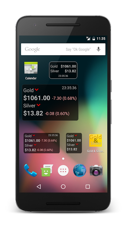 Gold Silver Price Widget Android S Agg