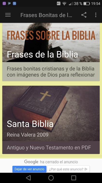 Frases Bonitas De La Biblia Android приложения Appagg