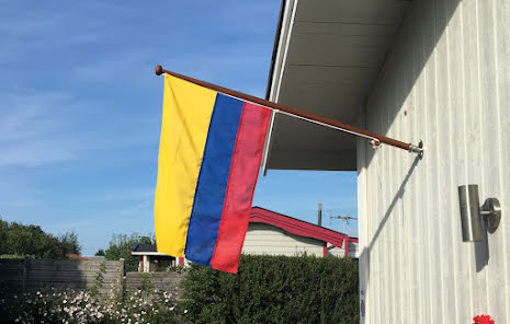 Colombias Flagga