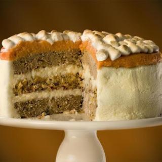 Thanksgiving Turkey Cake
