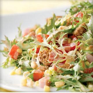 Smoky Ham and Corn Salad