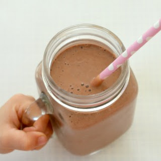 Healthy Chocolate Smoothie.