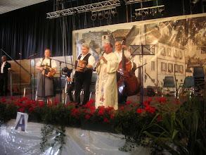 Photo: Predigtbegleitung durch Pfarrer Heller, Herr Aebersold und die Ansagerin