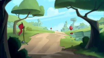 Angry Birds Toons - Run Chuck Run