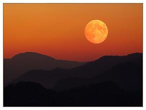 Photo: Mondaufgang  Phantasie / Fantasie