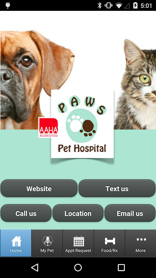 P.A.W.S. Pet Hospital - screenshot