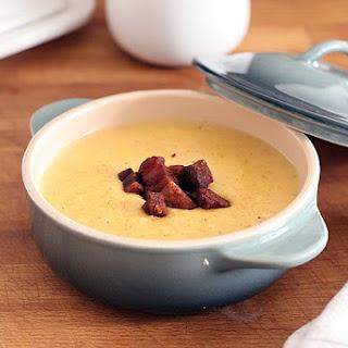 Potato and Corn Chowder with Pancetta