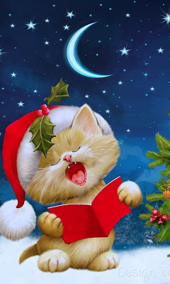 christmas cat wallpapers - screenshot