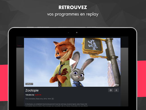 myCANAL, vos programmes en live ou en replay 3.3.9 screenshots 7