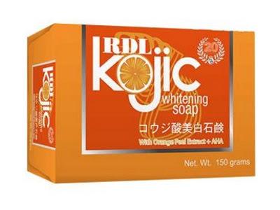Sabun Kojic RDL original asli rdl bpom aman membersihkan kulit memutihkan wajah flek mengurangi minyak