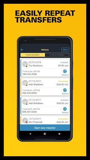 Western Union Us Send Money Transfers Quickly Screenshot 5