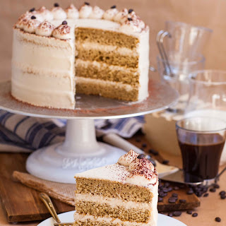Coffee Tres Leches Cake.