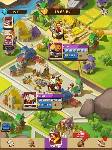 Kingdomtopia: The Idle King modavailable screenshots 12