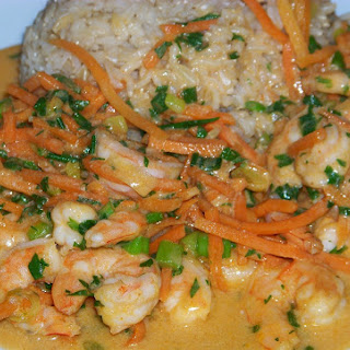 Light Thai Coconut Curry Shrimp