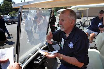 Photo: Jerry Jenkins tries the salmon