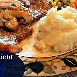 Mushroom Wine Sauce With Steak Recipes
