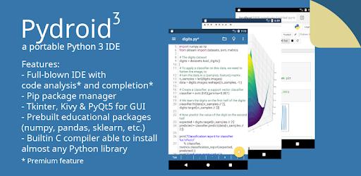 Pydroid 3 - IDE for Python 3 captures d'écran
