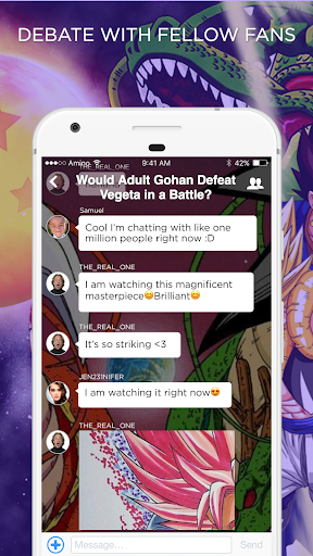 DBZ Amino for Dragon Ball Fans - screenshot