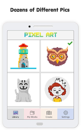 Pixel No.Draw: Color By Number, Art, Coloring Book image   10