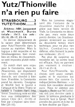 Photo: 17-04-11 N3F Yutz-Thionville battu 3-0 à Strasbourg