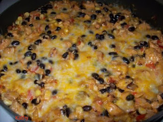 Southwestern Chicken & Rice Skillet Recipe