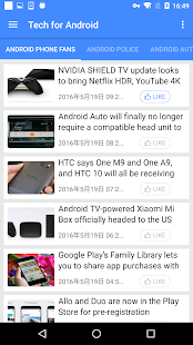 Tech for Android- screenshot thumbnail