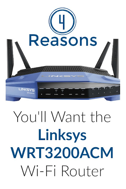 Here are 4 reasons you'll want the new Linksys WRT3200ACM Wi-Fi Router (especially if you love Netflix!)