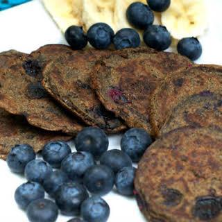 Blue Berry Buckwheat Pancakes.