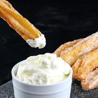 Homemade Mexican Churros.