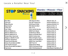 Photo: Here is a list of all the retailers in Florida. If you looks at a few of the names they sound like vitamin/suppliment stores and then health food stores. That made me feel MUCH MORE COMFORTABLE about trying this product again. I try to be very all-natural so this list of stores assured me that it was a quality product.