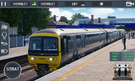 Europe Train Simulator - Train Driver 3D 1.02 screenshots 2