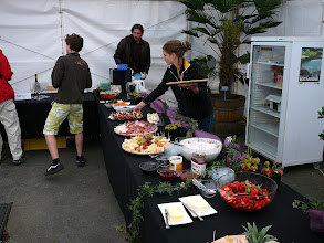 Photo: The Swiss CP-meeting 2010. Well organized catering.