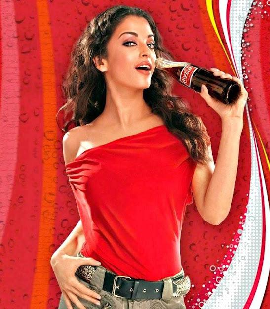 Aishwarya Rai old Coca cola ad