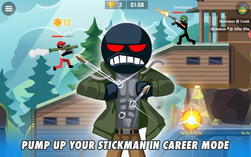 Stickman Combats: Multiplayer Stick Battle Shooter apktram screenshots 7