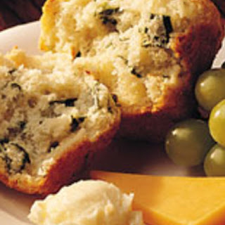 Cheese and Spinach Muffins.