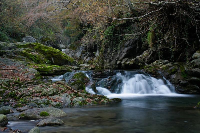 Piccola cascata nel mezzo della natura di ValeBonifacio