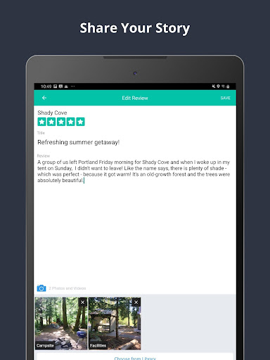 The Dyrt Camping App: Tent & RV Campsites Finder 3.1.36 screenshots 18