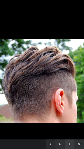 メンズヘアスタイル。