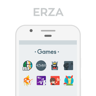 Erza Icon Pack Screenshot
