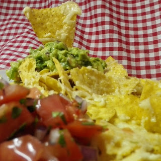 Cheese Nachos With Guacamole Recipes