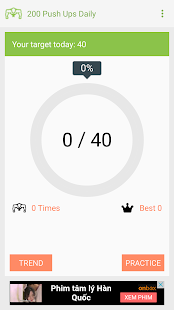 200 Push ups Daily - náhled